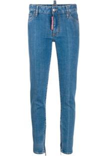 Dsquared2 Calça Jeans Skinny - Azul