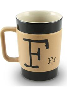 Caneca Coffe To Go- F 300Ml-Mondoceram - Pardo