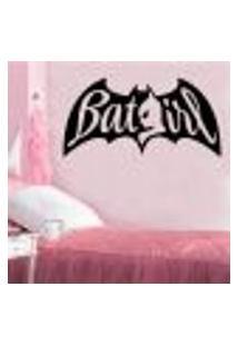 Adesivo De Parede Batgirl - Es 135X70Cm
