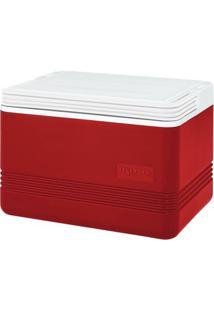 Caixa Térmica Nautika Igloo Legend 12 Latas - Cooler - Unissex-Vermelho