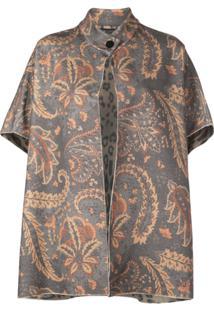 Etro Paisley Floral Print Cardigan - Estampado