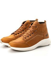 Bota Tenis Sapatenis Top Franca Shoes Olimpo Dourado.