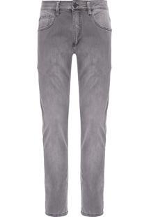 Calça Masculina Jeans Fit Nyc - Cinza
