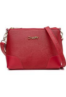 Bolsa Pequena Dhaffy, Alã§A Transversal Ajustã¡Vel Vermelho - Vermelho - Feminino - Dafiti
