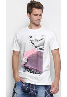 Camiseta Reserva Carro Masculina - Masculino-Off White