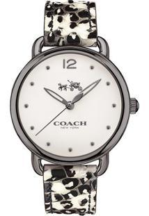 Relógio Coach Feminino Couro Estampado - 14502712