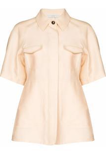 Lvir Camisa De Seda - Neutro