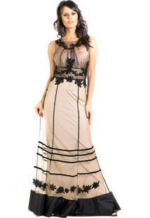 0f84c1658 Vestido Bordado Preto feminino | Gostei e agora?