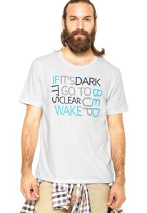 Camiseta M. Officer Dark Clear Branca
