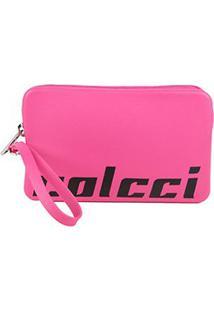 Carteira Colcci California Zíper - Feminino-Rosa+Pink