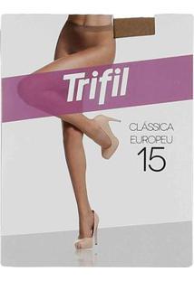 Meia-Calça Feminina Trifil Fio 15 Claro