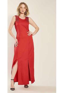 Vestido Longo Endless Vermelho