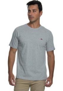 Camiseta Quiksilver Embroyed Basic - Masculino
