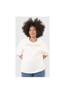 Camiseta Colcci Recicle Off-White