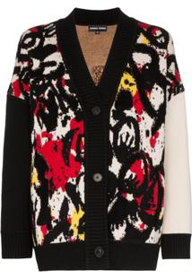 Angel Chen Cardigan Estampado - Multicoloured