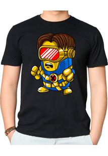 Camiseta Cyclops Minion Geek10 - Preto