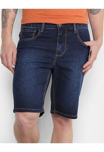 Bermuda Jeans Triton Slouchy Masculina - Masculino-Jeans