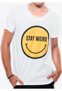 Camiseta Stay Weird 103432