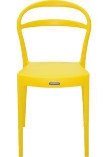 Cadeira Tramontina Sissi 92047/000 Amarelo Se