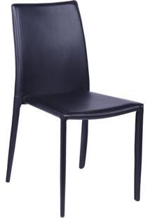 Cadeira De Jantar Glam- Preta- 90,5X46,5X43Cm- Oor Design