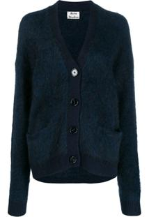 Acne Studios Cardigan Rives - Azul