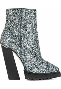 Jimmy Choo Ankle Boot Madra 130 - Azul