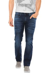 Calça Jeans Calvin Klein Jeans Slim Straight Azul