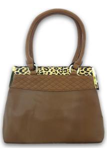 Bolsa Casual Sys Fashion 8527 Feminina - Feminino-Marrom