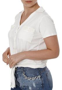 7a26042299 Camisa Manga Curta Viscose feminina