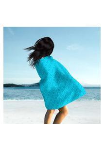 Toalha De Praia / Banho Elements Blue Único