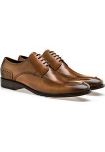 Sapato Social Brogan Eccellenza Enzo Masculino - Masculino-Marrom