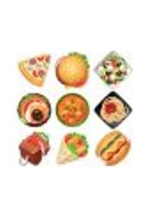 Adesivo Decorativo De Cozinha - Alimentos - 215Cz-M