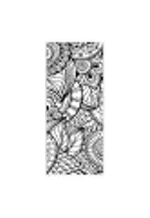 Adesivo Decorativo De Porta - Mandalas - Flores - 156Cnpt Auto Colante