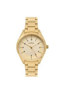 Relógio Condor Feminino Analógico Dourado Co2035Msx4X