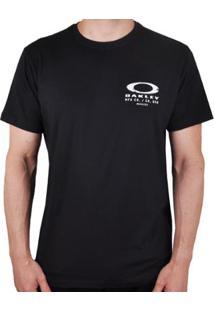 Camiseta Oakley Ellipse Skull Stacked Masculino - Masculino