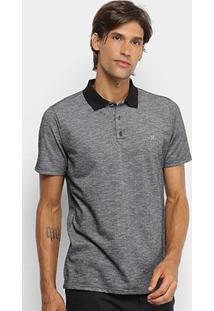Camisa Polo Hurley Start Masculina - Masculino-Preto