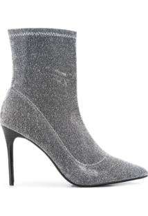 Kendall+Kylie Ankle Boot 'Millie' - Prateado