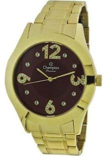 Relógio Champion Cn29178I - Feminino-Dourado