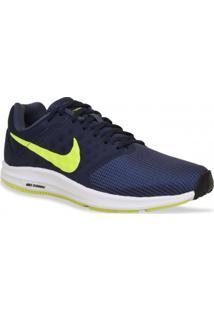 Tenis Nike Running Downshifter 7 Marinho