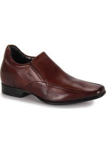 Sapato Social Aumenta Altura Masculino Rafarillo Vegas Alth - Marrom