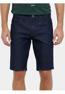Bermuda Jeans Colcci Davi Indigo Masculina - Masculino