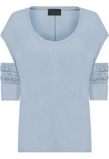 Camiseta Feminina M.L Imperatriz Ab - Azul