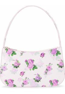 Kwaidan Editions Bolsa Tiracolo Com Estampa Floral - Roxo