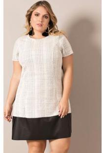 Vestido Off White Lisamour