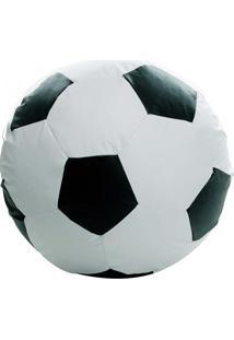 Puff Big Ball Futebol - Stay Puff - Branco