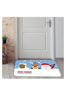 Tapete De Natal Para Porta Bem Vindo Único