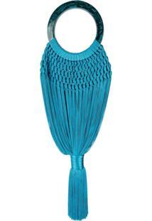 Cult Gaia Bolsa Tote Angelou - Azul