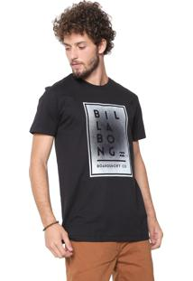 Camiseta Billabong Stracked Up Preta