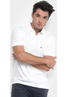 Camisa Polo Tommy Hilfiger Piquet Regular Fit - Masculino