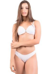 Conjunto De Renda Lingerie Michele - Feminino